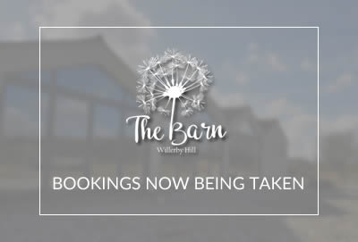 The Barn Is Now Taking Bookings