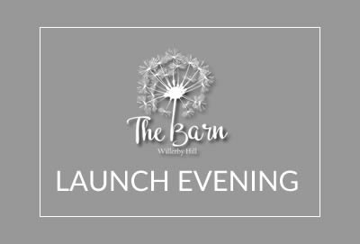 Don't Forget That The Barn Launch is This Friday